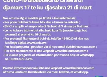 Important notice regarding Coronavirus measures