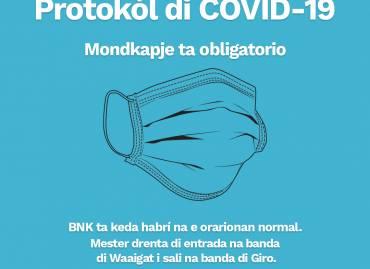 Protokòl di Covid-19 di BNK